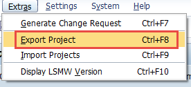 lsmw-trasport-export-project-abap-how-to