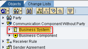 Import Business System to ID by right clicking on Business Systems and selecting Assign Business Systems