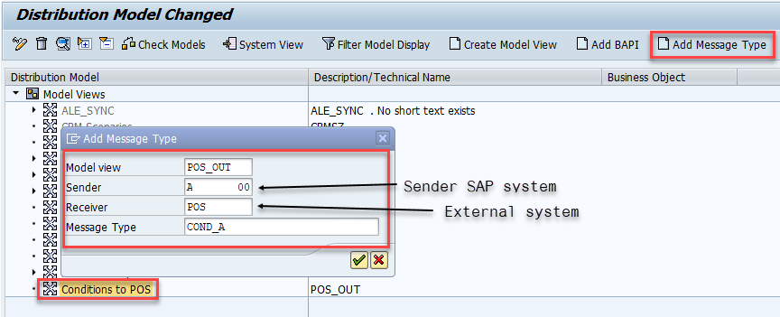 Add new Message Type to Model View Bd64