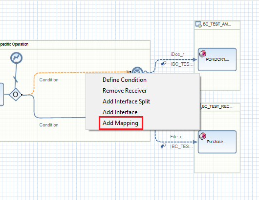 Add Mapping to iFlow