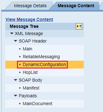 Dynamic Configuration section of PI/PO message holds the filename and directory attributes of the sFTP adapter.