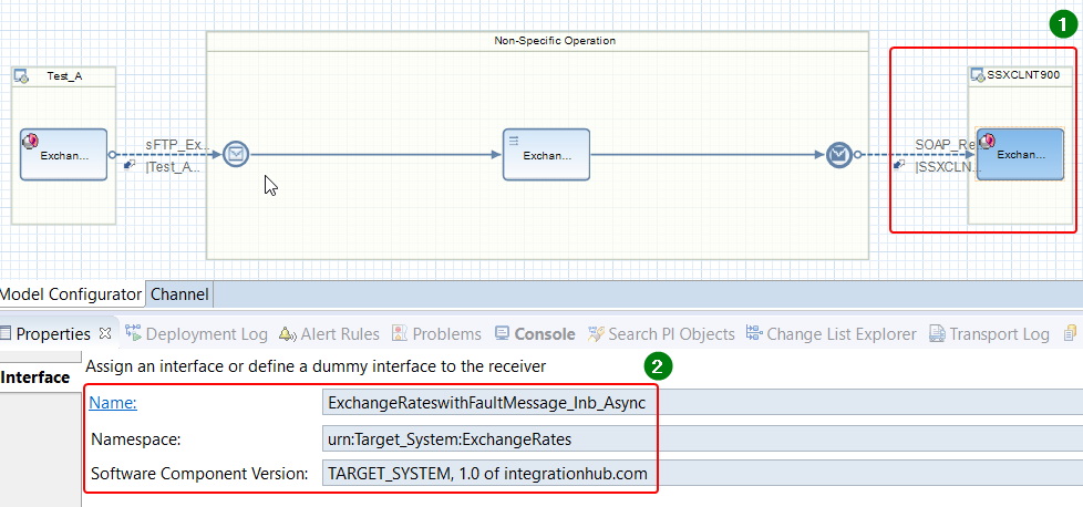 Interface detail (name, namespace and SWCV) in iFlow