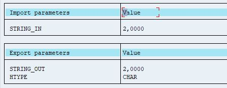 Behavior of NUMERIC_CHECK FM for thousand seperated Input