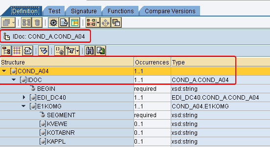 iDoc Type used as Source Message Type